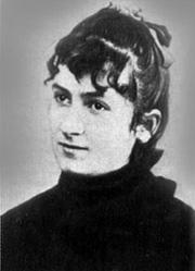 Мария Монтессори в молодости